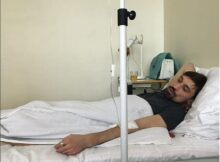 Дима Билан госпитализирован в больницу с воспалением лёгких