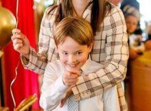 Елизавета Боярская опубликовала фото старшего сына